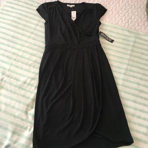 New York & Company Little Black Dress Cap Sleeves